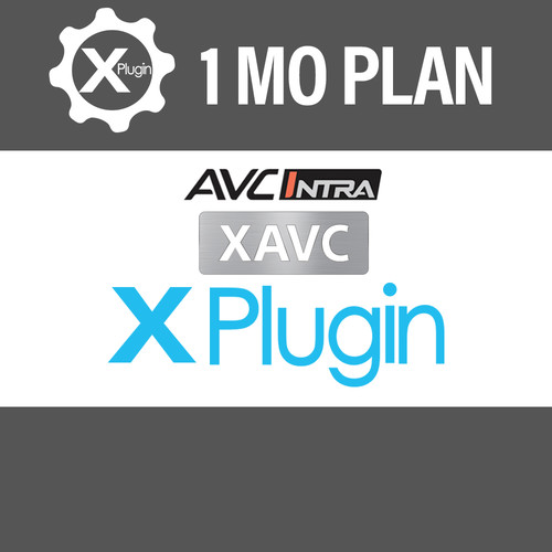 Cinedeck XAVC/AVC-I Plugin 1-Month Subscription Insert-Edit Plugin