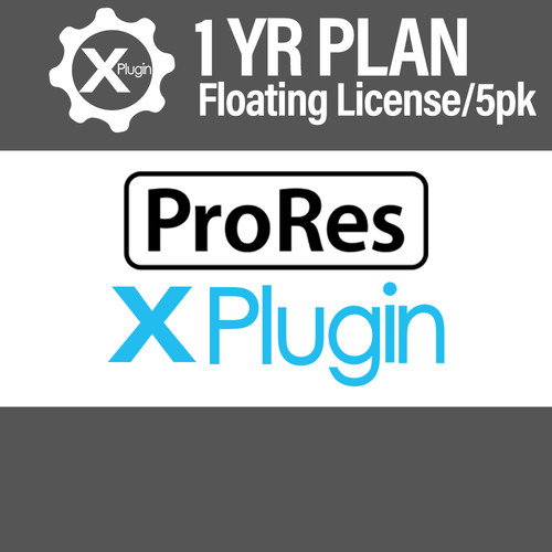 Cinedeck ProRes Plugin 1-Year Subscription -Floating (5-Seat Minimum)