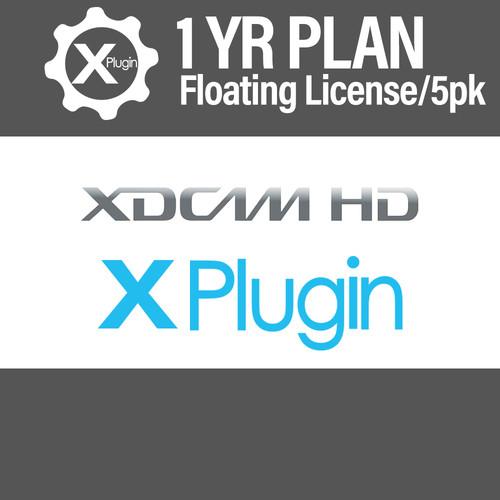 Cinedeck XDCAM Plugin 1-Year Subscription -Floating (5-Seat Minimum)