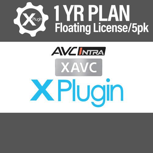 Cinedeck XAVC/AVC-I Plugin 1-Year Subscription -Floating (5-Seat Minimum)