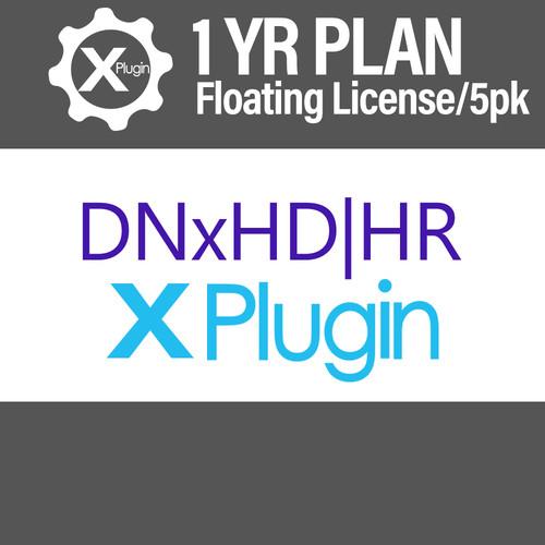 Cinedeck DNxHD-HR Plugin 1-Year Subscription -Floating (5-Seat Minimum)