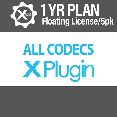 Cinedeck All Codecs 1-Year Subscription -Floating (5-Seat Minimum)
