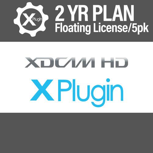 Cinedeck XDCAM Plugin 2-Year Subscription -Floating (5-Seat Minimum)