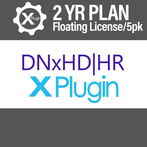 Cinedeck DNxHD-HR Plugin 2-Year Subscription -Floating (5-Seat Minimum)