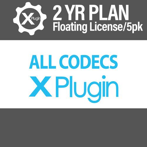 Cinedeck All Codecs 2-Year Subscription -Floating (5-Seat Minimum)