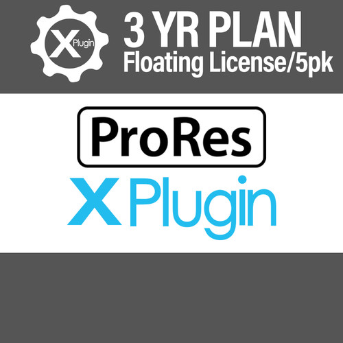 Cinedeck ProRes Plugin 3-Year Subscription -Floating (5-Seat Minimum)