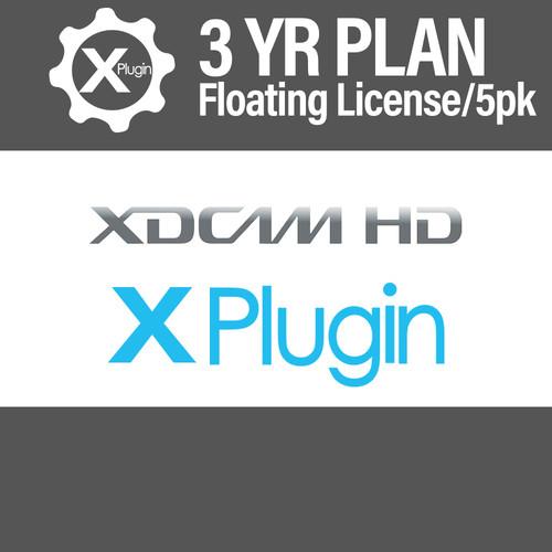 Cinedeck XDCAM Plugin 3-Year Subscription -Floating (5-Seat Minimum)