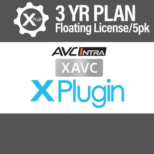 Cinedeck XAVC/AVC-I Plugin 3-Year Subscription -Floating (5-Seat Minimum)