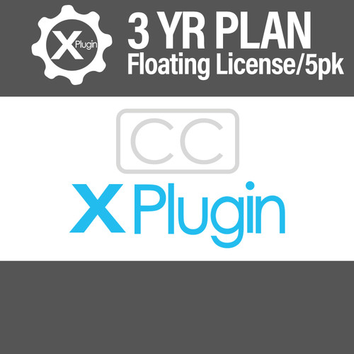 Cinedeck Closed Captions 3-Year Subscription -Floating (5-Seat Minimum)