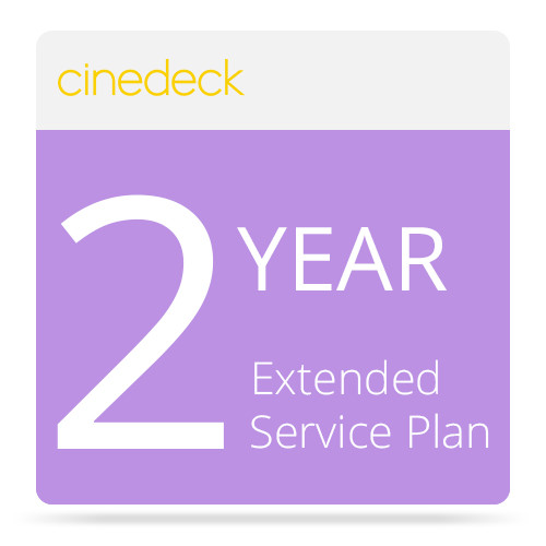 Cinedeck Extended 2nd & 3rd Year Support Service for RX Recorder / Monitor / Playback System