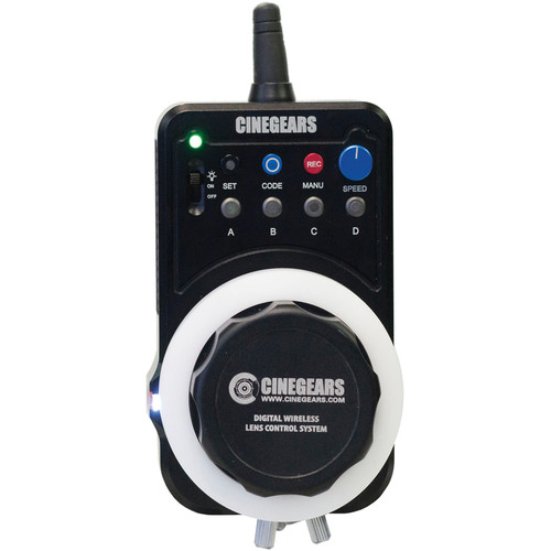 CINEGEARS Single Axis Wireless Express Plus Controller
