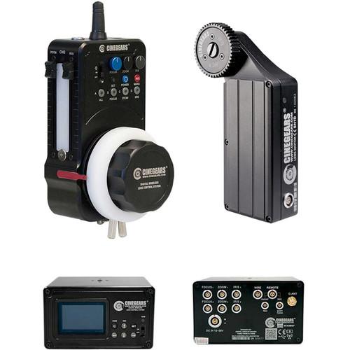 CINEGEARS Multi-Axis Wireless Follow Focus Kit