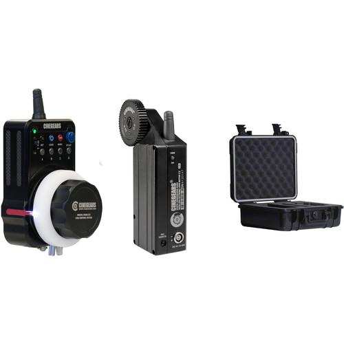 CINEGEARS Single-Axis Wireless Follow Focus Express Plus Basic Kit