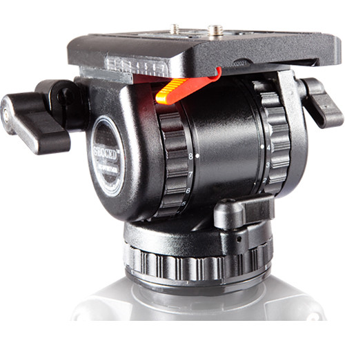 Secced Fluid Head for ENG and HDV Cameras