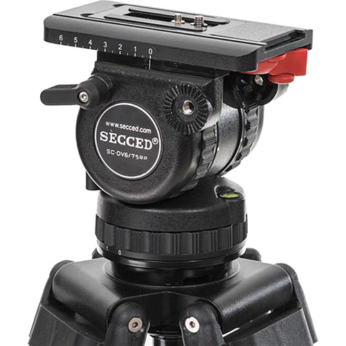 Secced Fluid Head for HDV Camcorder