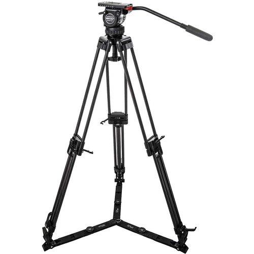 Secced Reach Plus 1 Kit with Two-Stage Aluminum Tripod & Fluid Head