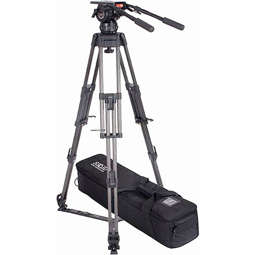 Secced Reach Plus 6 Kit with Two-Stage Carbon Fiber Tripod & Fluid Head