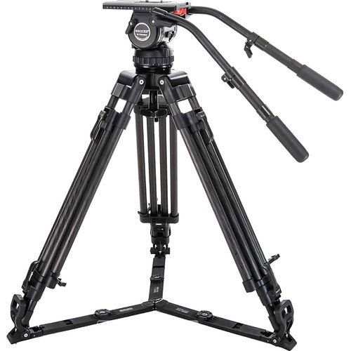 Secced Cinekit 4 Kit with Two-Stage Carbon Fiber Tripod & Fluid Head