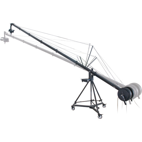 Secced 6M Travelling Crane for DV and ENG Camcorders
