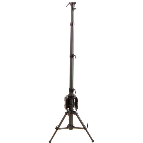 CINEGEARS Multi-Purpose Small Foot Print Carbon Fiber Tripod 2'- 9' Ft With Tilt Platform And Gold Mount Plate