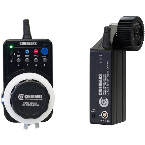 CINEGEARS Express Plus Kit Wireless Follow Focus with Extreme High-Torque Motor