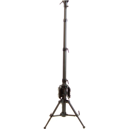 CINEGEARS Multipurpose Small Footprint Carbon Fiber Tripod with V-Mount Battery Plate