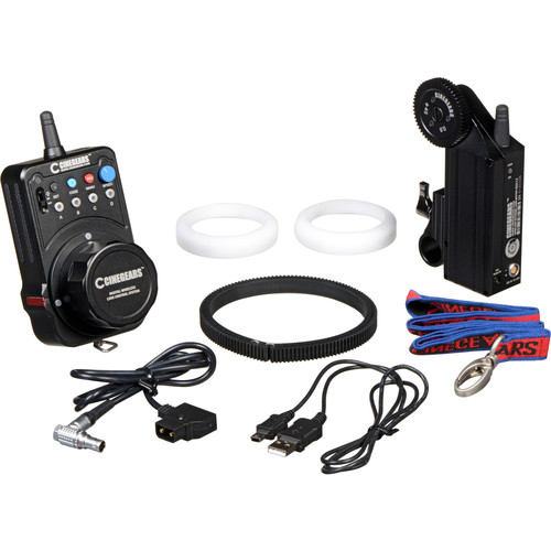 CINEGEARS Single-Axis Wireless Follow Focus Express Basic Extreme Kit
