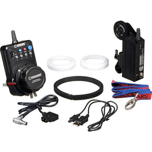 CINEGEARS Single-Axis Wireless Follow Focus Express Plus Basic Extreme Kit