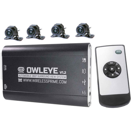 CINEGEARS OWLEYE Automobile VR 360° DVR Surround View System for Commercial Vehicles V1.2