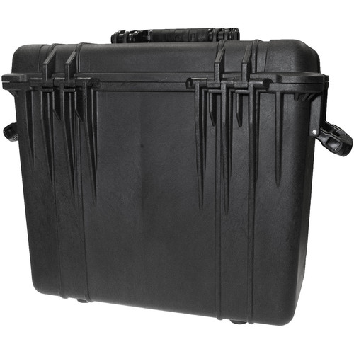 CINEGEARS Pelican 1440 Case with Padded Dividers and Lid Organizer (Black)