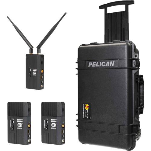 CINEGEARS Ghost-Eye Wireless HDMI/SDI Video Transmission 150M V2 Pro Kit