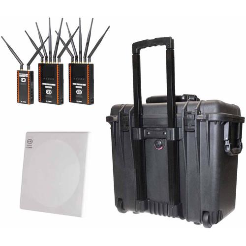 CINEGEARS Ghost-Eye Wireless HDMI/SDI Video Transmission 1000M Pro Dual Receiver Kit