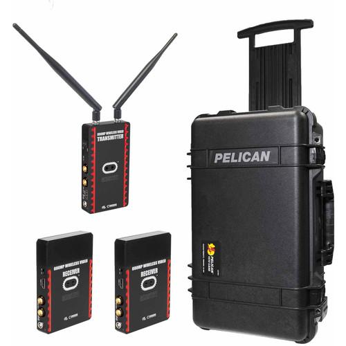 CINEGEARS Ghost-Eye Wireless HDMI/SDI Video Transmission 600MP Pro Kit