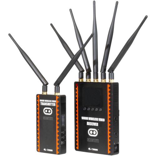 CINEGEARS Ghost-Eye Wireless HD SDI Video Transmission Kit 1000M Gold Mount