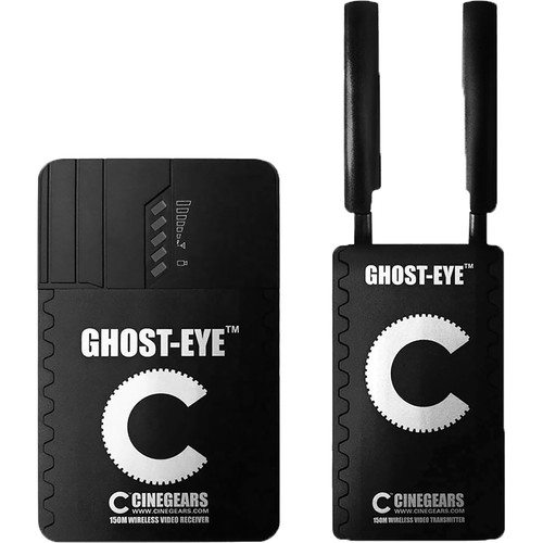 CINEGEARS Ghost-Eye 150m Wireless HDMI & SDI Video Transmission Kit (492')