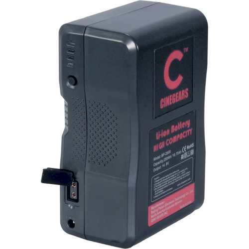 CINEGEARS 250Wh V-Mount Li-Ion Production Battery