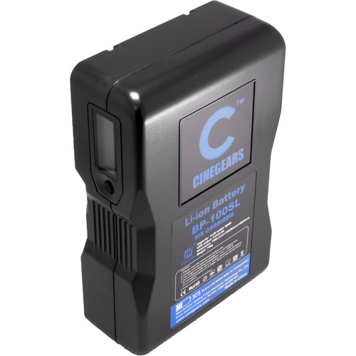CINEGEARS 100Wh Compact Lithium-Ion V-Mount Battery