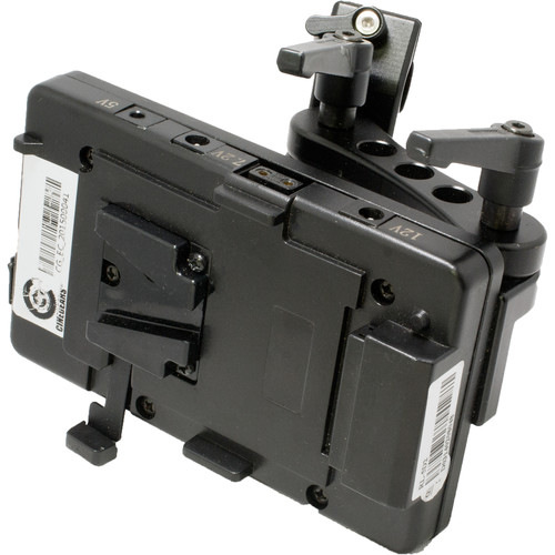 CINEGEARS V-Lock Battery Plate with Multi-DC Output for RED Cameras