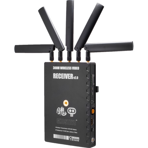 CINEGEARS Ghost-Eye 300M V2 Wireless HD & SDI Video Receiver (2297')