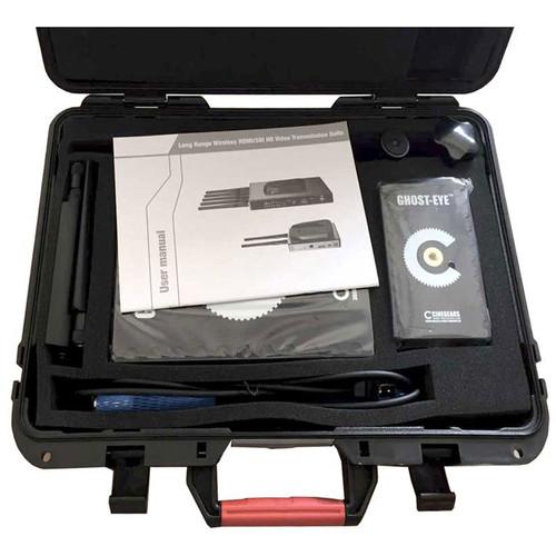 CINEGEARS Waterproof Foamed Case for Ghost-Eye 300M Wireless Transmission Kit