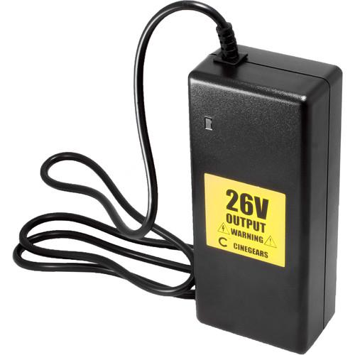 CINEGEARS 26V Production Li-Ion Battery Charger