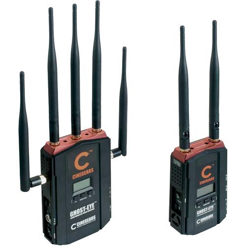 CINEGEARS Ghost-Eye 400M Wireless HDMI & SDI Video Transmission Kit (1312')