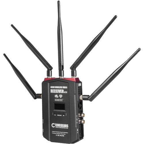 CINEGEARS Ghost-Eye 400M V2 Wireless HDMI/SDI Receiver
