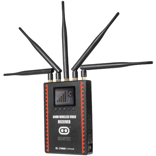 CINEGEARS Ghost-Eye Wireless HDMI & SDI Video Receiver 600M (V-Mount, Encrypted)