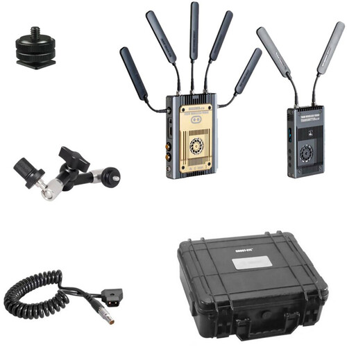 CINEGEARS Ghost-Eye 700M Wireless Hybrid HDMI/SDI ENG Transmission Kit (Gold Mount)