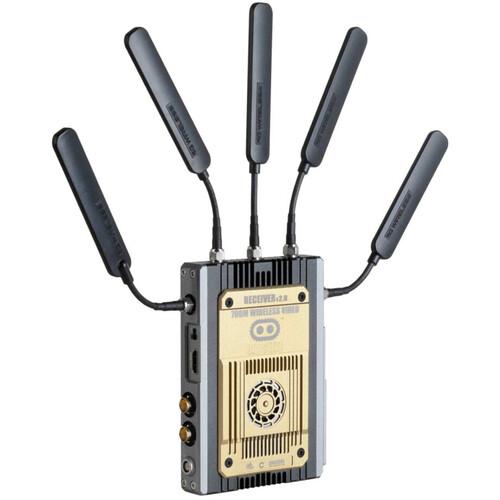 CINEGEARS Ghost-Eye 700M Wireless Hybrid HDMI & SDI Video Receiver (Gold Mount)