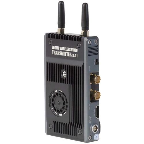 CINEGEARS Ghost-Eye 700M Plus Wireless Hybrid HDMI/SDI Transmission Kit (L-Series/V-Mount, Encrypted)