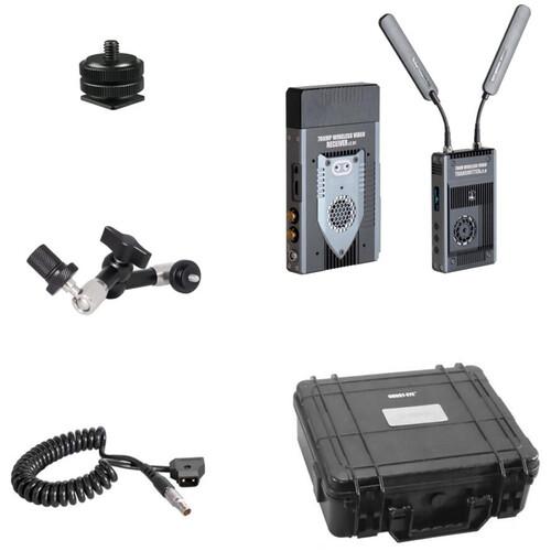 CINEGEARS Ghost-Eye 700M Plus Wireless Hybrid HDMI/SDI ENG Transmission Kit (Gold Mount)