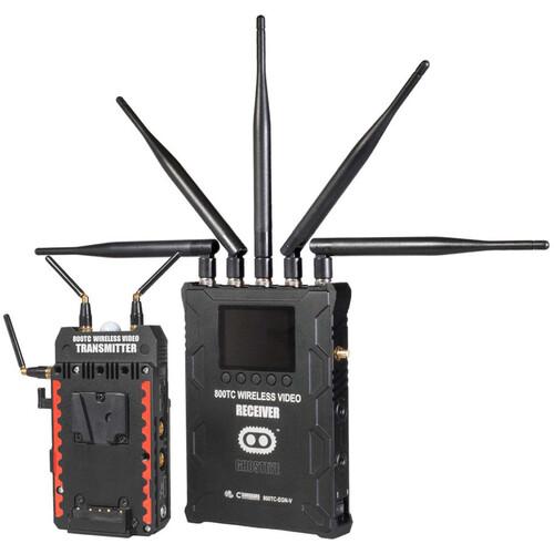 CINEGEARS Ghost-Eye Wireless 800TC Video Transmission Kit (V-Mount, Encrypted)