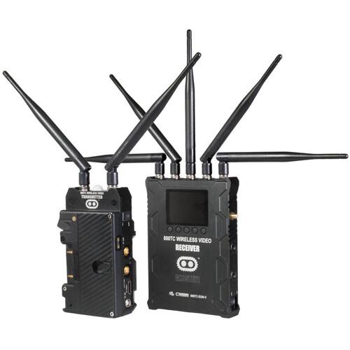 CINEGEARS Ghost-Eye Wireless 800TC Video Transmission Kit (Gold Mount)